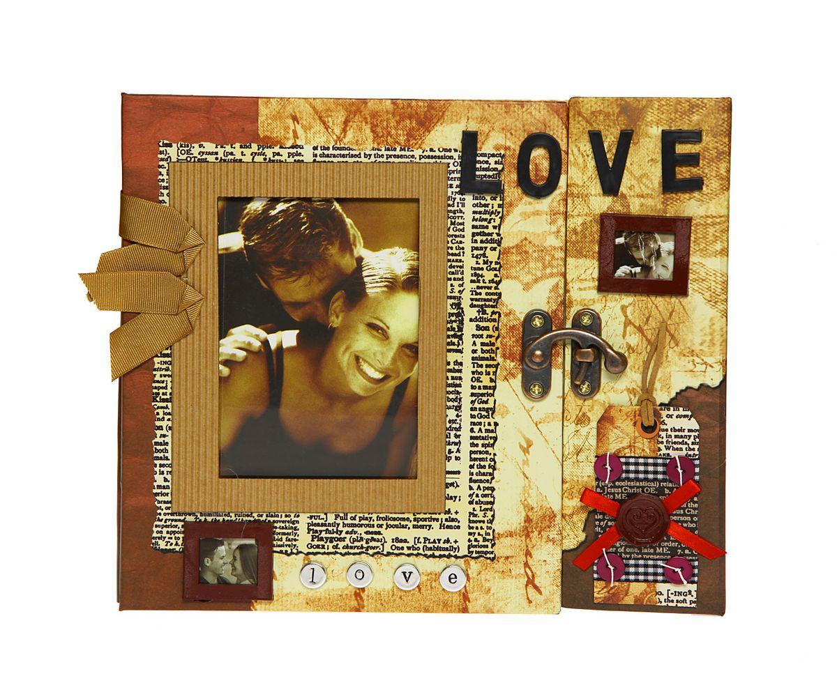 Фотоальбом HomeMaster Любовь, цвет: мультиколор, 120 фото, 25 х 23 х 4 смJX-L006Оригинальный фотоальбом (ЛЮБОВЬ) имеет 30 листов на 120 фото 10х15 . На внутренних страницах альбома, есть возможность делать памятные записи. На лицевой стороне альбома также можно разместить одну фотографию. Объемный декор, ручная работа.