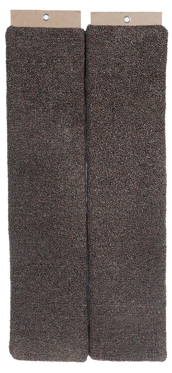 Когтеточка Меридиан, настенная, угловая, цвет: коричневый, серый, длина 68 смК023_коричневый, серыйУгловая когтеточка Меридиан предназначена для стачивания когтей вашей кошки и предотвращения их врастания. Волокна ковролина обеспечивает естественный уход за когтями питомца. Когтеточка позволяет сохранить неповрежденными мебель и другие предметы интерьера. Угловая когтеточка может крепиться на смежных поверхностях стен и пола. Длина когтеточки: 68 см. Длина рабочей части: 65 см.