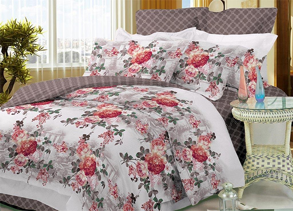 Комплект белья Primavera Classic Розы, 1,5-спальный, наволочки 70x7088246Комплект постельного белья Primavera Classic Розы является экологически безопасным для всей семьи, так как выполнен из высококачественного сатина (100% хлопка). Комплект состоит из пододеяльника на молнии, простыни и двух наволочек. Постельное белье оформлено ярким рисунком цветов и имеет изысканный внешний вид. Сатин - производится из высших сортов хлопка, а своим блеском и легкостью напоминает шелк. Постельное белье из сатина превращает жаркие летние ночи в прохладные и освежающие, а холодные зимние - в теплые и согревающие. Приобретая комплект постельного белья Primavera Classic Розы, вы можете быть уверенны в том, что покупка доставит вам и вашим близким удовольствие и подарит максимальный комфорт.