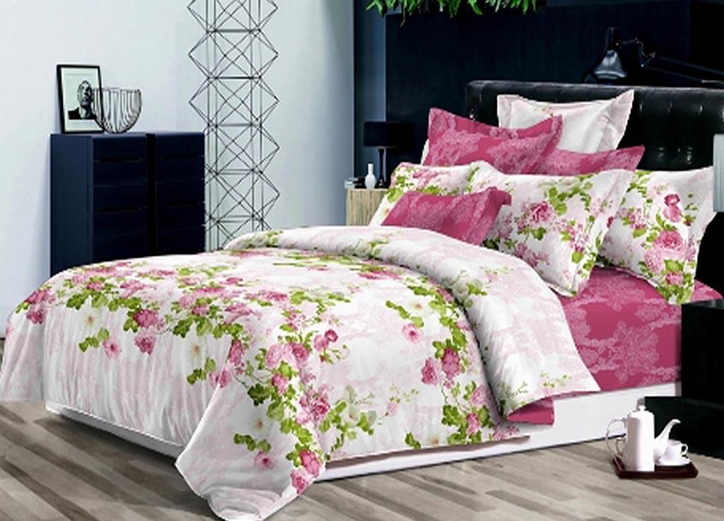 Комплект белья Primavera Classic Утренние цветы, 2-спальный, наволочки 70x7088271Комплект постельного белья Primavera Classic Утренние цветы является экологически безопасным для всей семьи, так как выполнен из высококачественного сатина (100% хлопка). Комплект состоит из пододеяльника на молнии, простыни и двух наволочек. Постельное белье оформлено ярким рисунком цветов и имеет изысканный внешний вид. Сатин - производится из высших сортов хлопка, а своим блеском и легкостью напоминает шелк. Постельное белье из сатина превращает жаркие летние ночи в прохладные и освежающие, а холодные зимние - в теплые и согревающие. Приобретая комплект постельного белья Primavera Classic Утренние цветы, вы можете быть уверенны в том, что покупка доставит вам и вашим близким удовольствие и подарит максимальный комфорт.