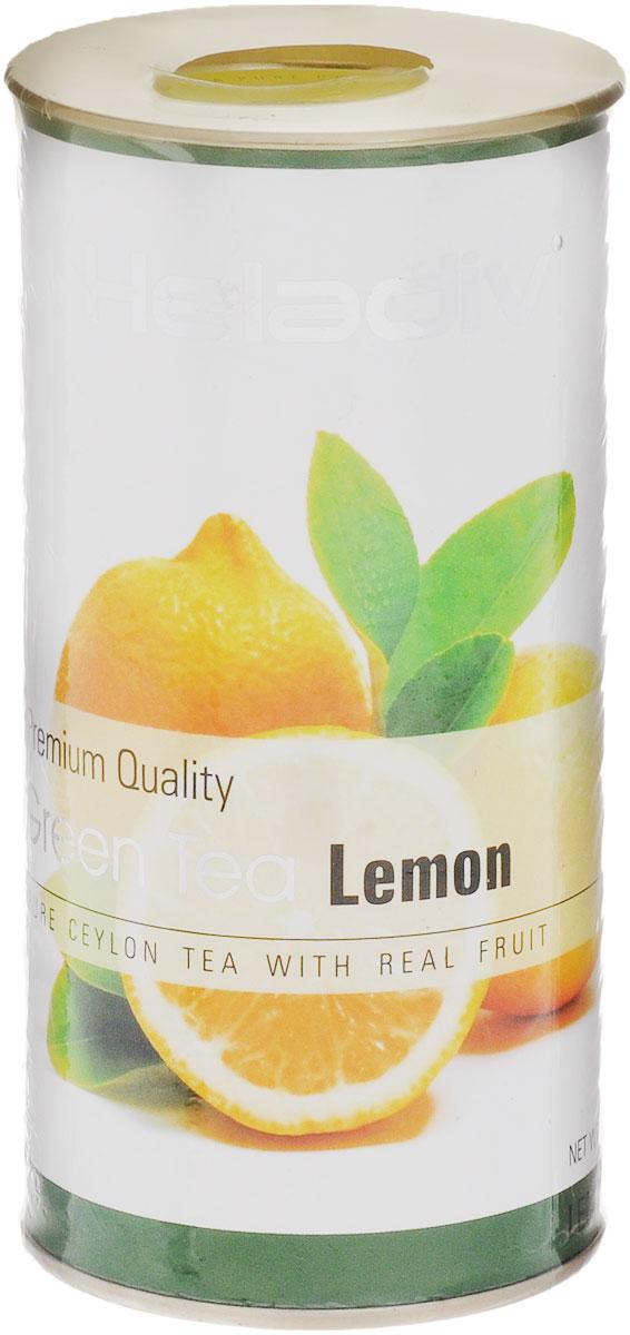 Heladiv Lemon Green чай зеленый листовой с лимоном, 100 г4791007010012Heladiv Lemon Green - это сочетание элитного зеленого цейлонского чая с насыщенным ароматом и кусочками лимона. Подарит неповторимые ощущения и заряд бодрости.