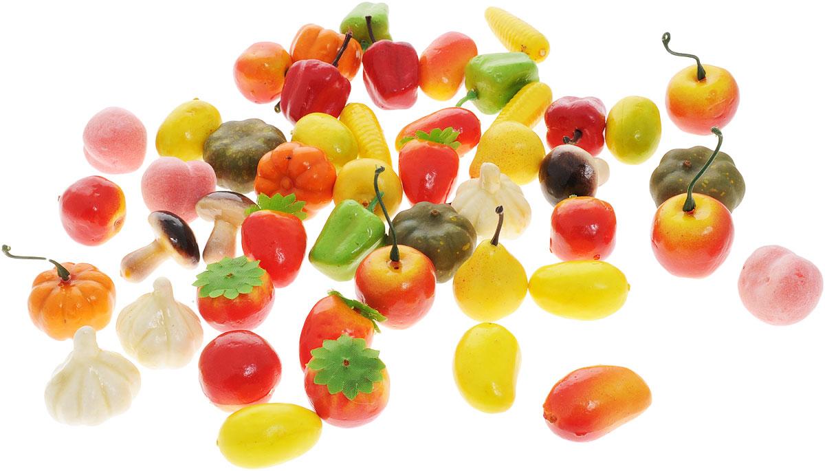 Junfa Toys Набор фруктов и овощей 48 шт6682Набор из овощей и фруктов Junfa Toys прекрасно подойдет ребенку для веселых игр. Набор состоит из 48 пластиковых фруктов и овощей, с помощью которых малыш сможет приготовить самые разнообразные блюда. Этот набор станет незаменимым дополнением к кухне вашего маленького повара.