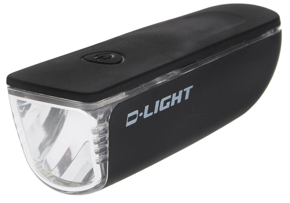 Фара велосипедная D-Light CG-119W, цвет: черный, серебристыйCG-119W-BlackФара D-Light CG-119W предназначена для обеспечения большей безопасности при поездках в темное время суток. Легко снимается и помещается в кармане. Фара крепится без дополнительных инструментов. Корпус изделия выполнен из прочного пластика, водонепроницаем. Фара имеет 3 режима: мигание и свечение 2 двух яркостей. Фонарь питается от 3 батарей типа ААА (входят в комплект). Время свечения в разных яркостях: 14 часов и 29 часов. Время мигания: 32,5 ч. Размер фары (без учета крепления): 9,5 х 3,5 х 3,5 см.