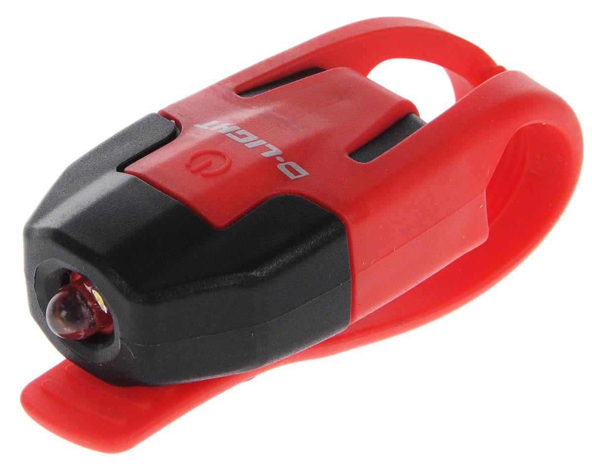 Фонарь велосипедный D-Light CG-210W, габаритный, передний, цвет: красный, черныйCG-210W-BK+RDЗадний габаритный велофонарь с рассеянным светом D-Light CG-210W предназначен для обеспечения большей безопасности при поездках в темное время суток. Он легко крепится и снимается без дополнительных инструментов на основу диаметром 18-32 мм. Корпус изделия выполнен из прочного пластика. Фонарь имеет 2 режима: мигание и постоянное свечение. Изделие водонепроницаемо. Фонарь питается от 1 батареи типа CR2032 (входит в комплект). Время свечения: 70 ч. Время мигания: 40 ч. Размер фонаря (без учета крепления): 4 х 2,5 х 1,3 см.