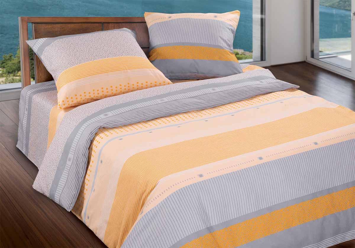 Комплект белья Wenge Line, 2-спальный, наволочки 70x70, цвет: зеленый299470