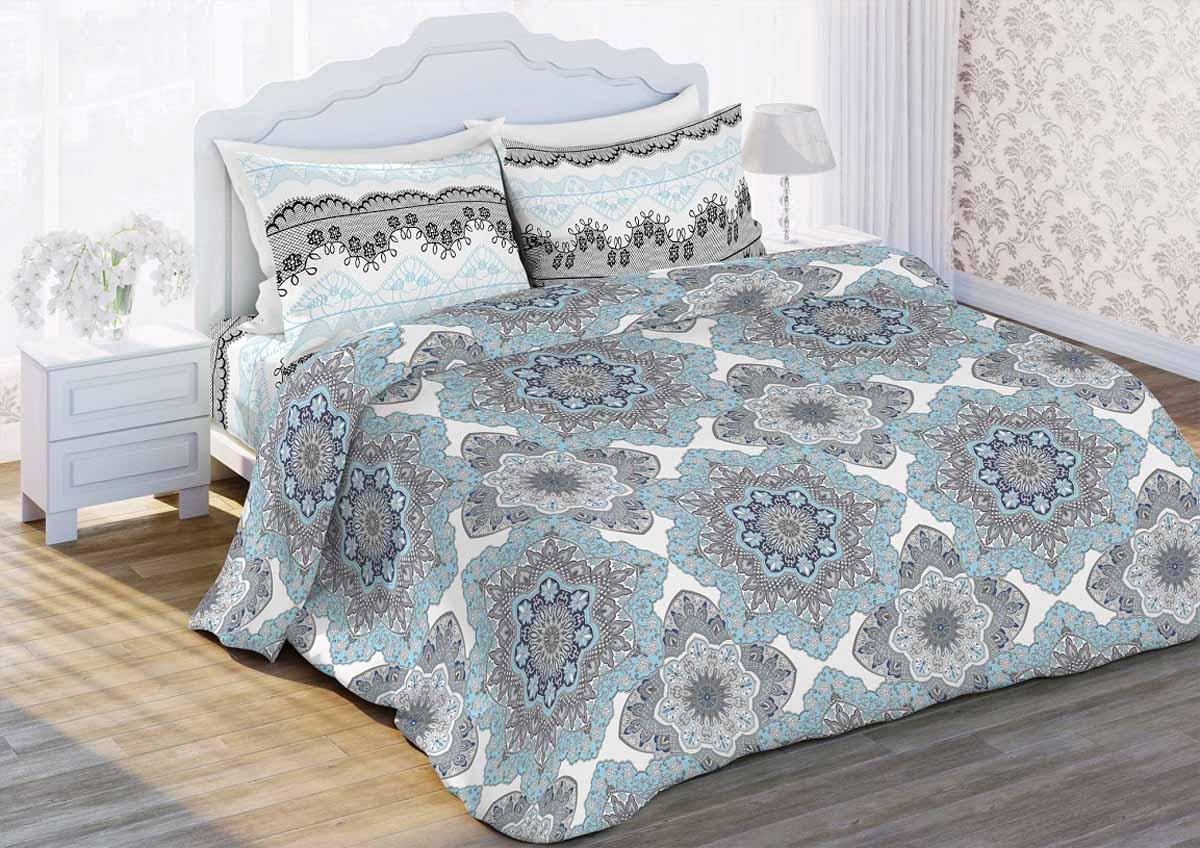Комплект белья Любимый дом Кружева, 1,5-спальный, наволочки 70x70325888Комплект постельного белья коллекции Любимый дом выполнен из высококачественной ткани - из 100% хлопка. Такое белье абсолютно натуральное, гипоаллергенное, соответствует строжайшим экологическим нормам безопасности, комфортное, дышащее, не нарушает естественные процессы терморегуляции, прочное, не линяет, не деформируется и не теряет своих красок даже после многочисленных стирок, а также отличается хорошей износостойкостью.