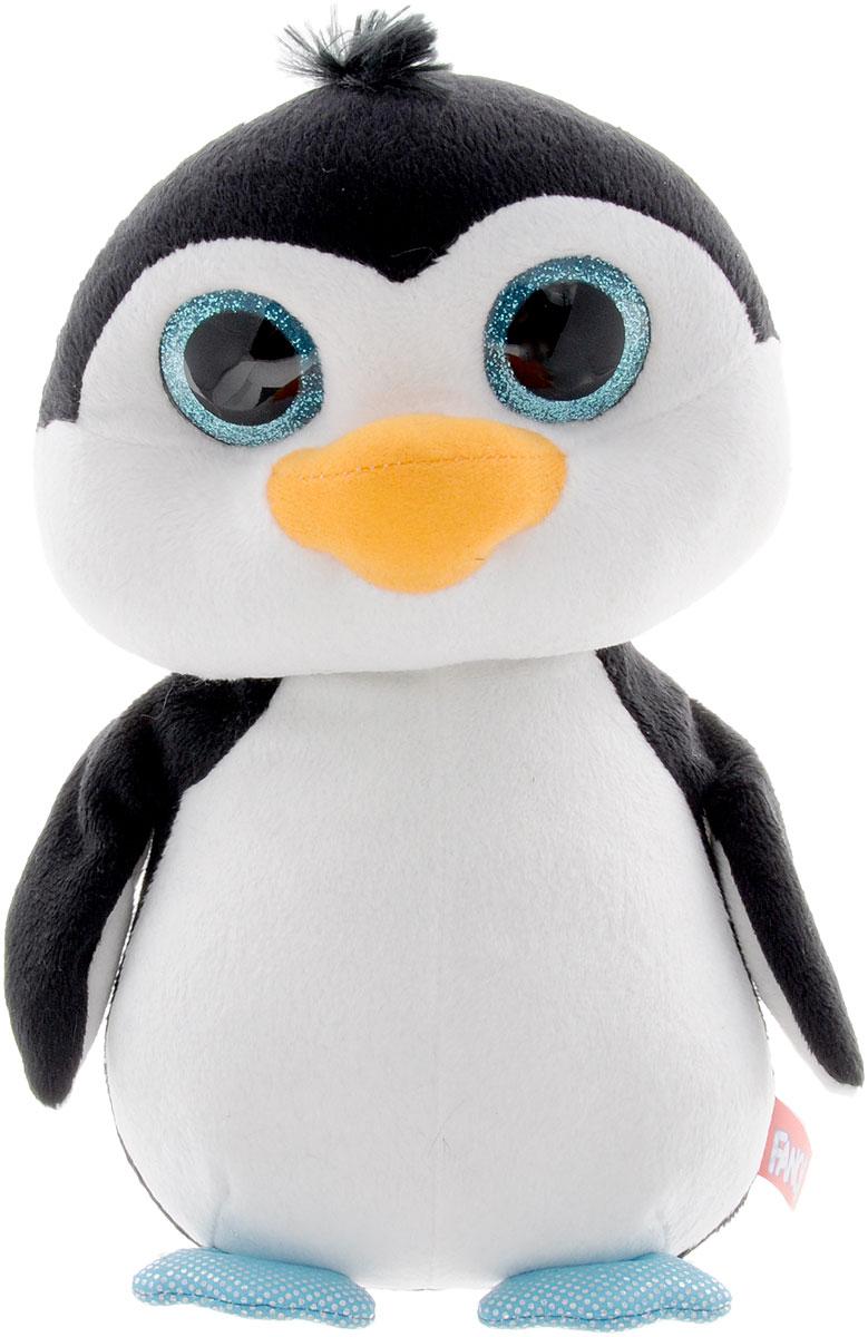 Fancy Мягкая игрушка Пингвин Глазастик 22 смGPI0Мягкая игрушка Пингвин Глазастик вызовет умиление и улыбку у каждого, кто ее увидит. Игрушка выполнена в виде милого пингвиненка черно-белого цвета с огромными блестящими пластиковыми глазками. Игрушка изготовлена из мягкого, приятного на ощупь искусственного меха и текстиля с наполнителем из гипоаллергенного полиэфирного волокна. Удивительно мягкая игрушка принесет радость и подарит своему обладателю мгновения нежных объятий и приятных воспоминаний. Великолепное качество исполнения делают эту игрушку чудесным подарком к любому празднику.