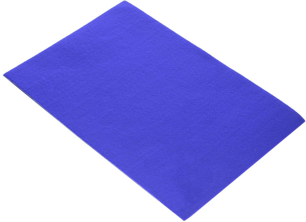 Фетр клеевой Hobby&You, цвет: синий (057), 20 х 30 см686522_057 синийКлеевой фетр Hobby&You изготовлен из 100% полиэстера. Благодаря клеевому слою, легко приклеивается. Лист фетра можно использовать целиком или вырезать из него различные фигуры. Работать с фетром просто и удобно: он легко режется, не осыпаясь по краям, из него получаются отличные аппликации. Фетр используется для изготовления открыток ручной работы и скрап-страничек, для создания бижутерии и аксессуаров для волос, для декора мебели, изготовления ковриков, диванных подушек, подставок под горячее, сумок и многого другого. Толщина: 1,4 мм. Размер листа: 20 х 30 см.