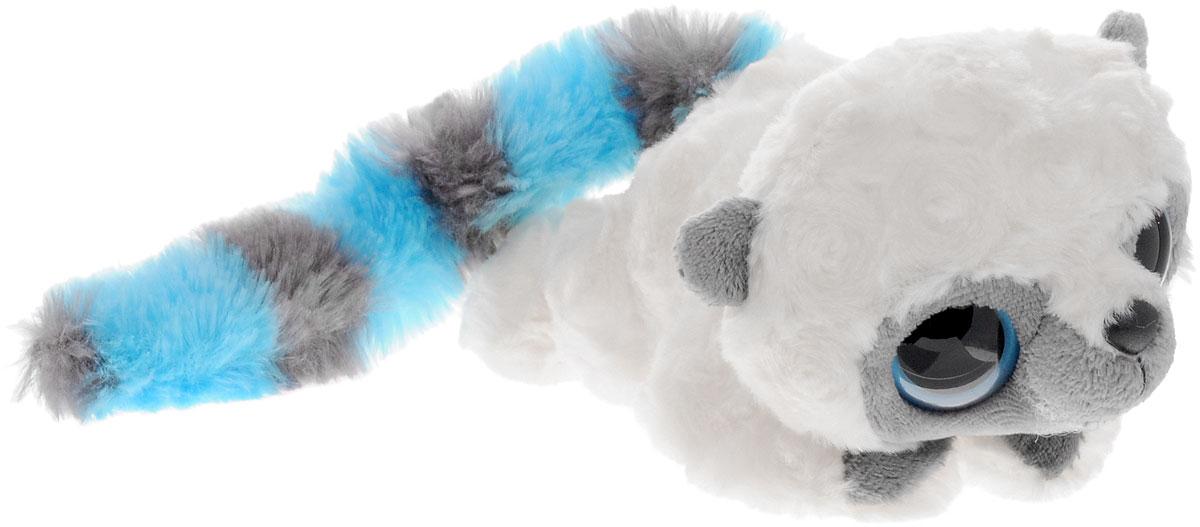 Aurora Мягкая игрушка Юху цвет белый голубой 16 см16-100Игрушка Юху станет замечательным подарком не только для мальчиков и девочек разных возрастов, но и для взрослых. Мягкая игрушка Юху вызовет умиление и улыбку у каждого, кто ее увидит. Игрушка выполнена в виде симпатичного зверька белого цвета с полосатым длинным хвостиком. У Юху огромные милые пластиковые глазки и черный носик. Игрушка изготовлена из мягкого, приятного на ощупь искусственного меха с наполнителем из гипоаллергенного полиэфирного волокна и пластиковых гранул. Удивительно мягкая игрушка принесет радость и подарит своему обладателю мгновения нежных объятий и приятных воспоминаний. Великолепное качество исполнения делают эту игрушку чудесным подарком к любому празднику. Игрушку можно стирать вручную или в машинке - она не деформируется и не потеряет цвета, шерсть не линяет и не скатывается со временем.