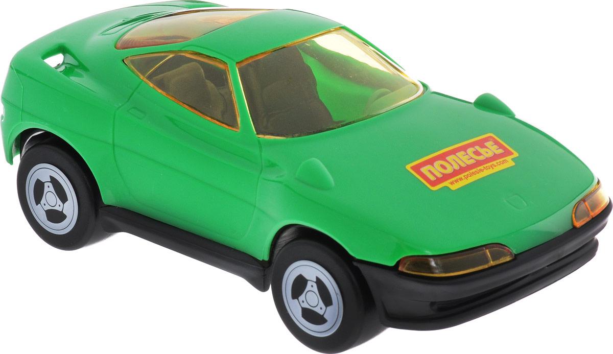Полесье Машинка Мустанг цвет зеленый841_зеленыйМашинка Полесье Мустанг понравится вашему малышу. Игрушка выполнена из высококачественного материала и оснащена четырьмя колесиками со свободным ходом. Сквозь полупрозрачные стекла ребенок сможет разглядеть салон машинки. Такая игрушка способствует развитию у малыша тактильных ощущений, мелкой моторики рук и координации движений.