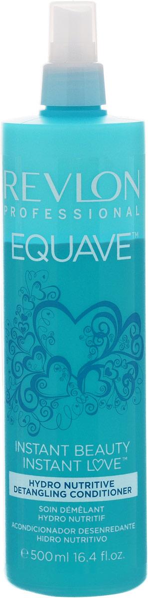 Revlon Professional Equave Несмываемый разглаживающий кондиционер увлажняющий и питающий Instant Beauty Hydro Nutritive Detangling 500 м