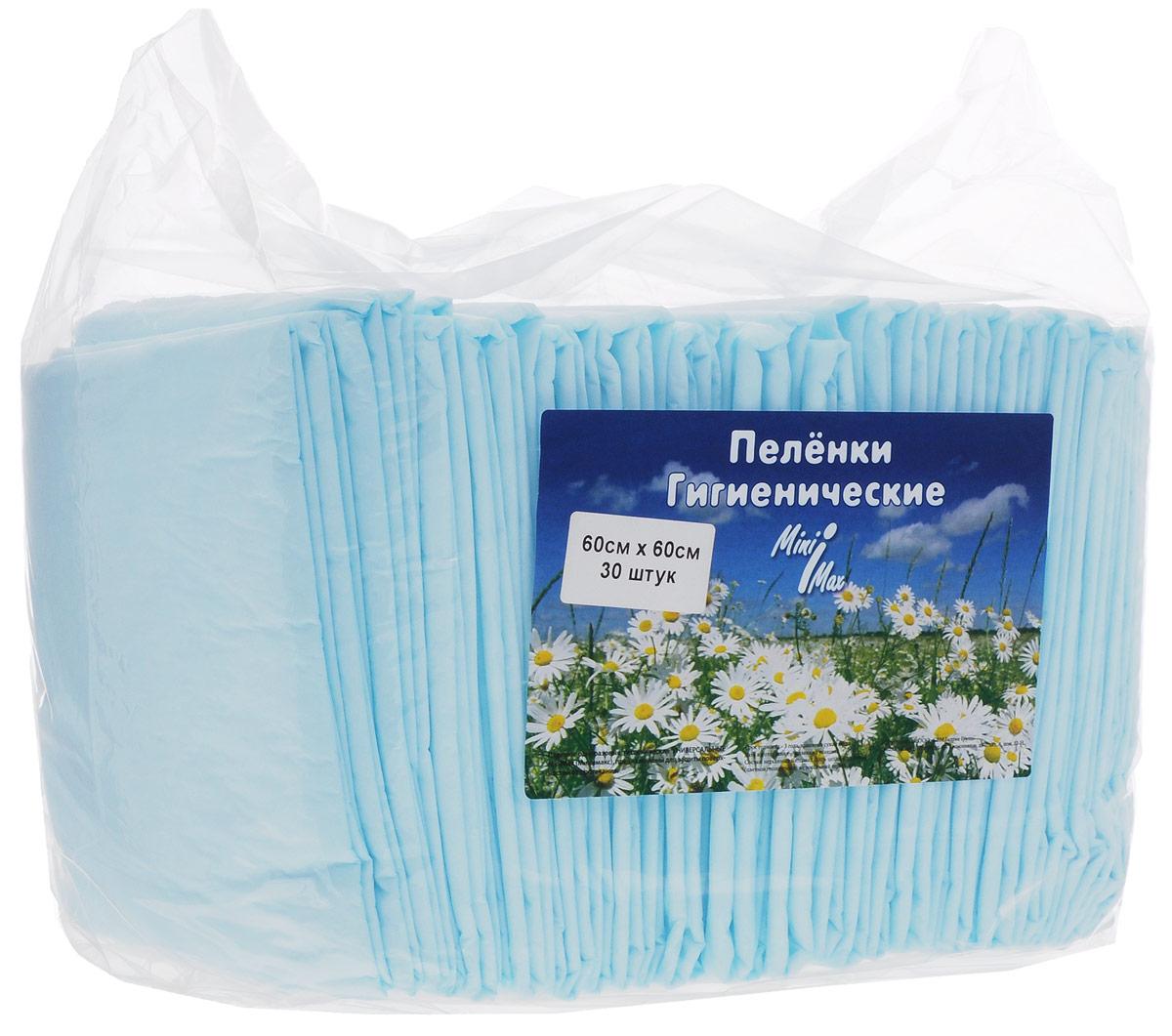 MiniMax Гигиенические пеленки универсальные 60 x 60 см 30 шт