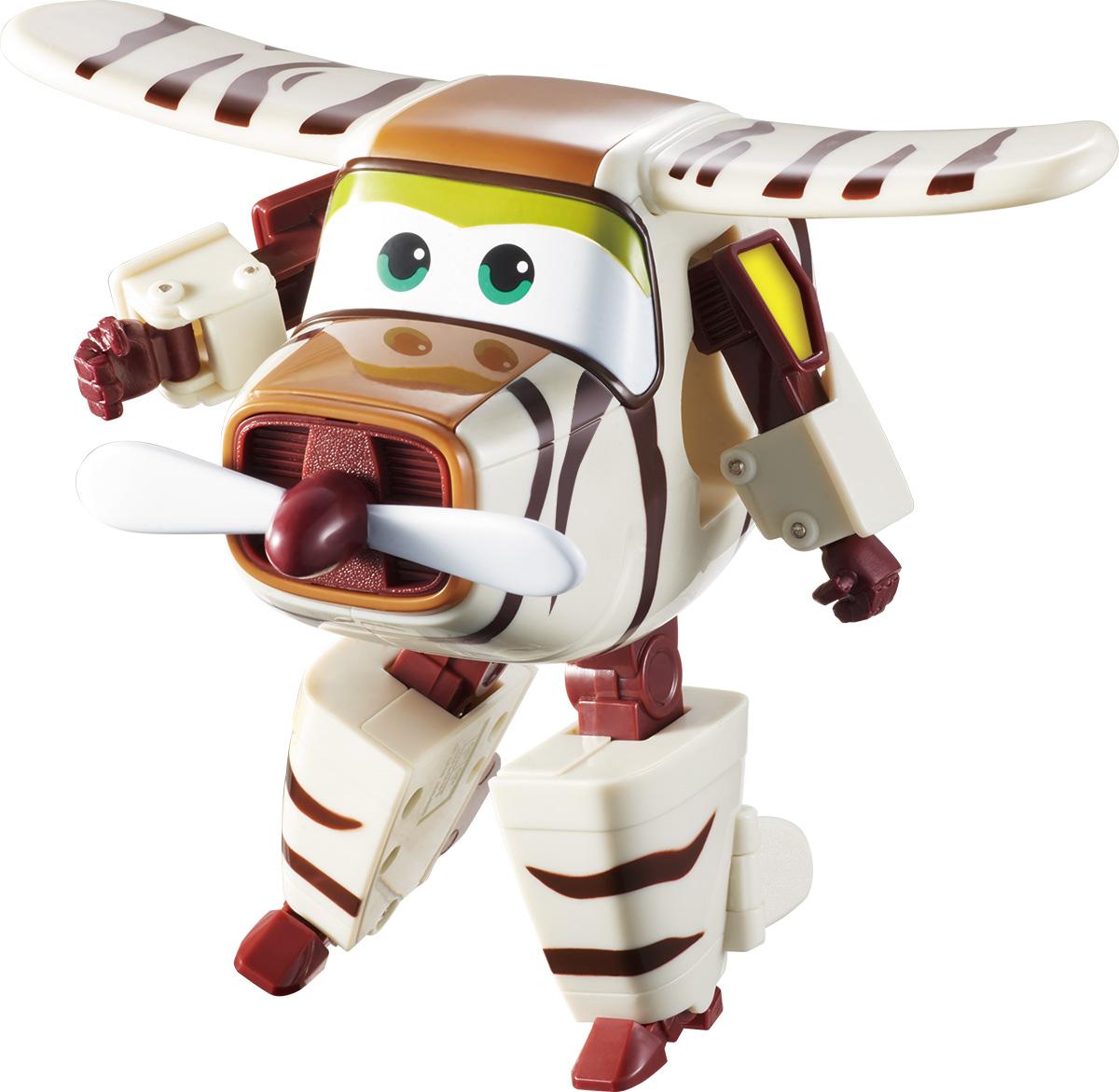 Super Wings Трансформер Бэлло YW710270YW710270Игрушка-трансформер Бэлло надолго займет внимание вашего ребенка. Игрушка выполнена из безопасного пластика в виде самолета по имени Бэлло, полностью повторяющего персонажа популярного мультсериала «Super Wings». Ваш ребёнок сможет всего за 10 шагов превратить самолет в робота и обратно. Сафари-самолёт Бэлло понимает абсолютно все языки животных и птиц. Когда между ребятами и зверятами нет согласия, Бэлло всегда поможет договориться. Шасси самолетика свободно вращаются, двери трансформируются в руки, а ноги для сафари легко выдвигаются из хвостовой части и убираются обратно. Эта игрушка непременно понравится вашему малышу, ведь она развивает любознательность, пространственное мышление, логику и мелкую моторику рук.