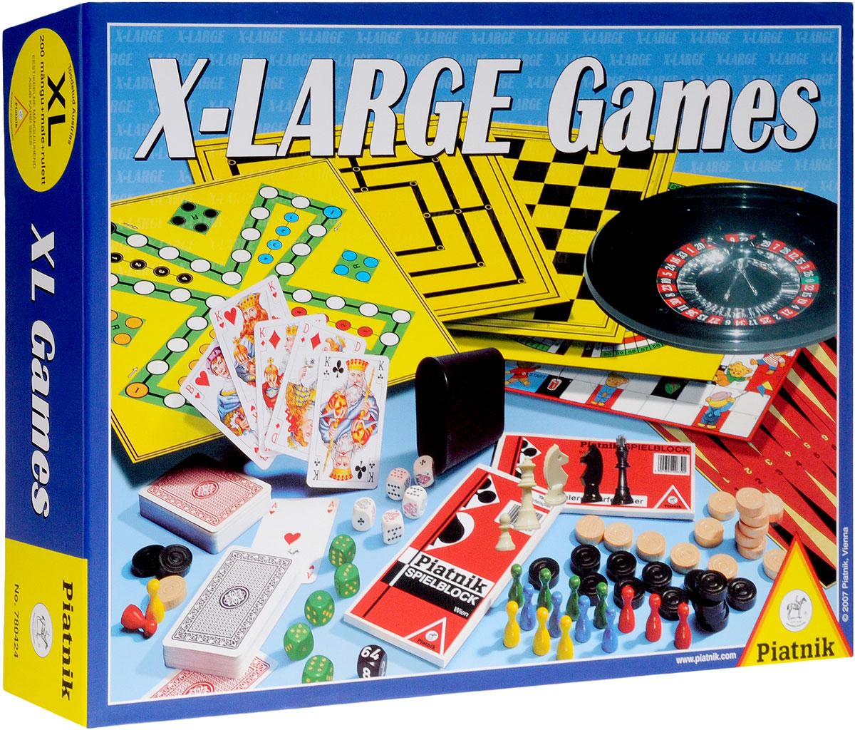 Piatnik Набор настольных игр X-Large Games