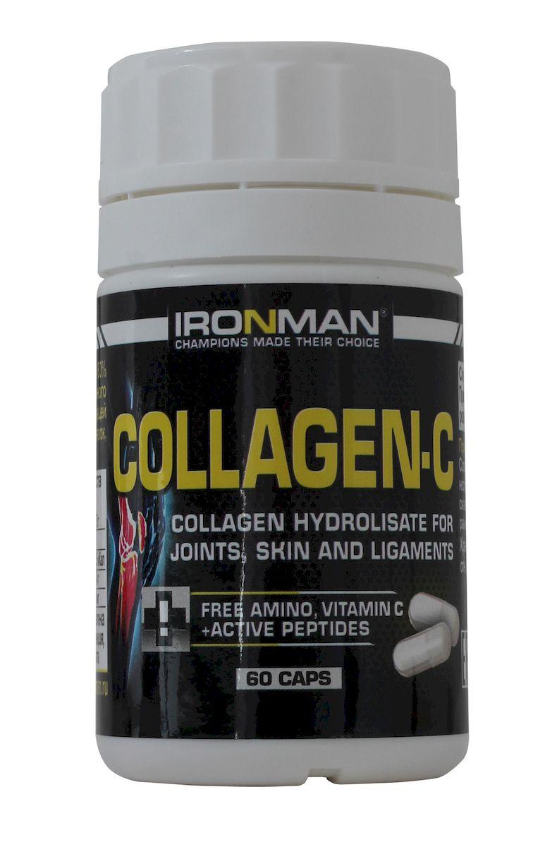 Ironman Коллаген С, 60 капс ( 4607062750391 )