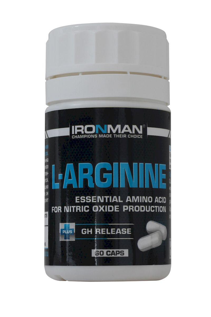Ironman L-Аргинин, 60 капсул ( 4607062751176 )