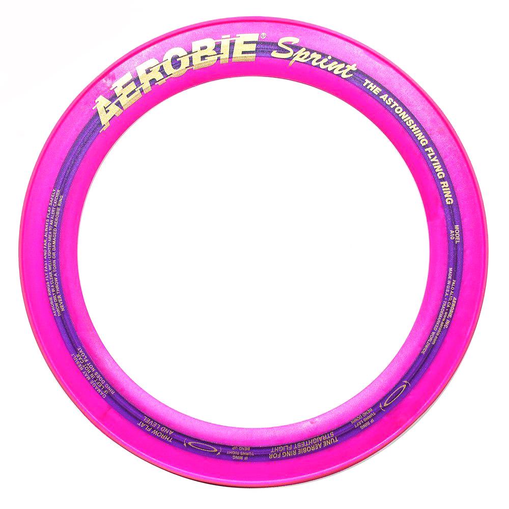 Aerobie Летающее кольцо Pro Ring78Летающие кольца AEROBIE - это результат высокотехнологичных разработок, выверенных аэродинамических расчетов и долгого кропотливого труда американских ученых, которые в результате получили непревзойденный летательный предмет.Летающее кольцо приятно не только кидать, но и ловить. У него мягкие резиновые края, которые делают ловлю интересной и приятной для рук. Все летающие кольца производятся в США и обладают высочайшим качеством.