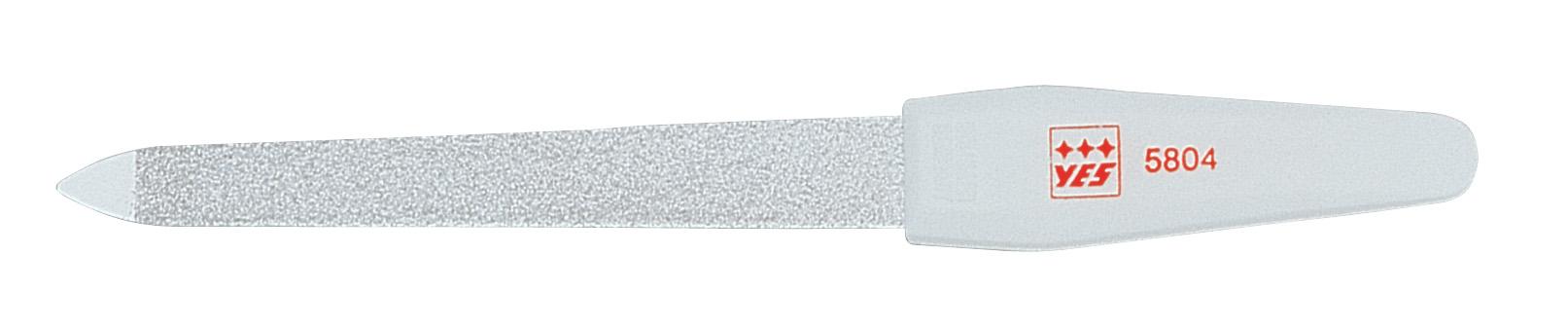Becker-Manicure YES Пилочка 13см. 9580495804Пилочка для ногтей изготовлена из высокоуглеродистой стали. Пилочка имеет двухстороннее сапфировое напыление: более крупное с одной стороны для формирования формы и мелкое с другой для завершения шлифовки ногтя. Длина пилочки 13 см. В блистерной упаковке. Хранить в сухом недоступном для детей месте. Замена изделия не осуществляется в следующих случаях: - Использование не по назначению - Самостоятельный ремонт - Нарушение условий хранения