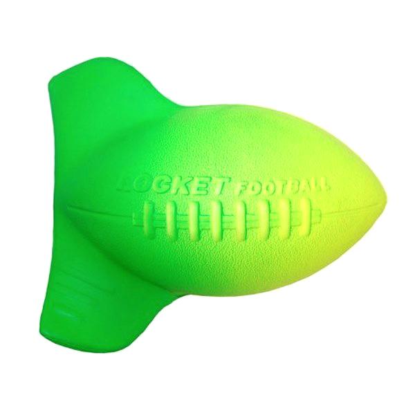 Aerobie Мяч Football77Аэродинамичный, скоростной и яркий AEROBIE Football станет Вашим неизменным спутником в вылазках на природу.На его корпусе расположены специальные отверстия для пальцев, гарантирующие удобный захват. Изогнутые винты увеличивают скорость вращения мяча, делая траекторию полета более аккуратной, и тем самым увеличивает точность броска. Его удобно ловить. Независимо от силы броска, материал из которого сделан AEROBIE Football, позволит Вам взять мяч без какого-либо дискомфорта для ладоней игрока. AEROBIE Football заставит Вас сбросить напряжение от городской суеты и ощутить всю прелесть отдыха на природе с друзьями.