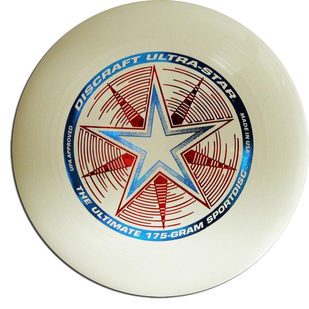 Discraft Летающий диск Ultra-Star цвет Night-Glow