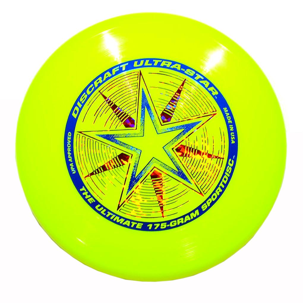 Discraft Летающий диск Ultra-Star цвет желтый1956Летающий диск