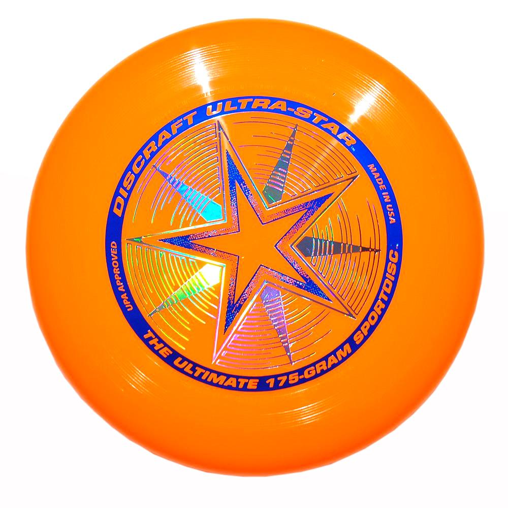 Discraft Летающий диск Ultra-Star цвет оранжевый1958Летающий диск