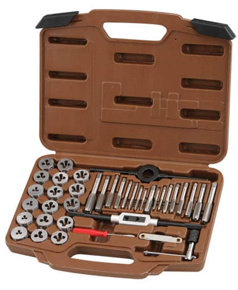 Набор метчиков и плашек Ombra, 40 предметов OMT40S