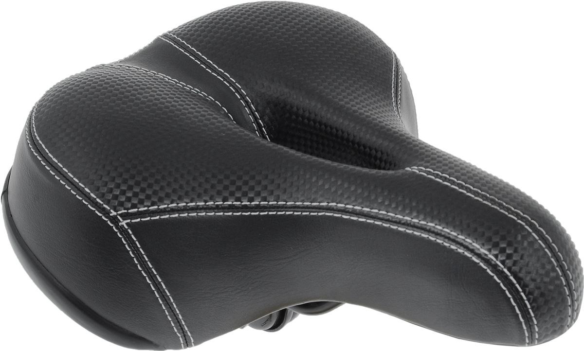 Седло для городского велосипеда Xinda, с эластомерами, с отверстием, со светоотражателем, 25 х 21 смXD-317-02E W/CLAMPСедло для городского велосипеда Xinda обладает повышенным комфортом и имеет отверстие. Специальный наполнитель, выполненный из вспененного полимера, обеспечивает мягкость и сохранение формы седла. Эластомеры служат для смягчения толчков при езде по неровной поверхности. Верхняя часть выполнена из искусственной кожи и текстиля. Седло оснащено красным светоотражателем. Размер седла: 25 х 21 см.