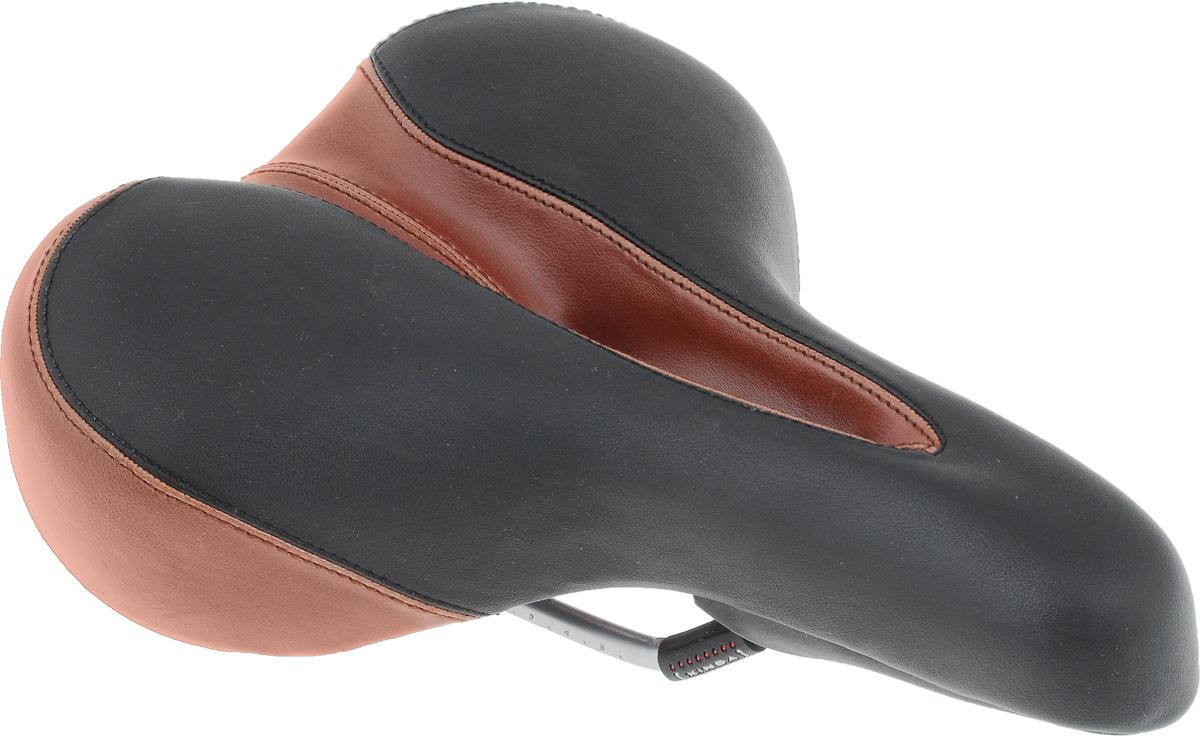 Седло для городского велосипеда Xinda, с отверстием, 27 х 20 смXD-816-01A W/CARDСедло для городского велосипеда Xinda обладает повышенным комфортом и оснащено отверстием. Специальный наполнитель, выполненный из вспененного полимера, обеспечивает мягкость и сохранение формы седла. Верхняя часть выполнена из искусственной кожи. В комплект входит крепление к штырю велосипеда. Размер седла: 27 х 20 см.
