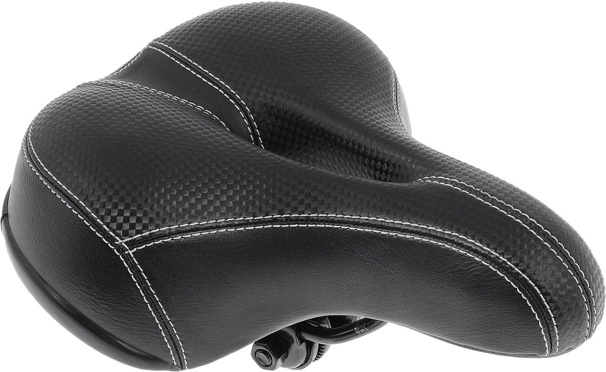 Седло для городского велосипеда Xinda, с пружинами, с отверстием, 25 х 21 смXD-317-02S W/CLAMPСедло для городского велосипеда Xinda обладает повышенным комфортом и оснащено отверстием. Специальный наполнитель, выполненный из вспененного полимера, обеспечивает мягкость и сохранение формы седла. Пружины служат для смягчения толчков при езде по неровной поверхности. Верхняя часть выполнена из искусственной кожи и текстиля. Размер седла: 25 х 21 см.