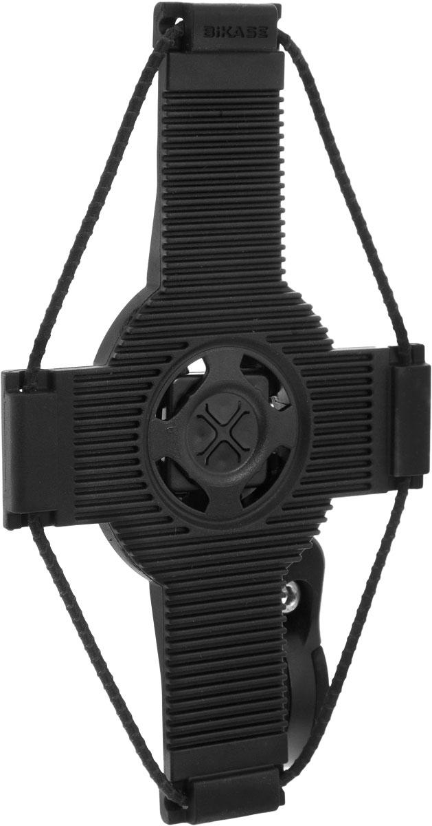 Держатель для телефона BiKase ElastoKase, 17 х 9,5 х 1,5PN1041Держатель BiKase ElastoKase позволяет носить с собой смартфон на велосипедных прогулках. Подходит для телефонов как с чехлами, так и без них. Удерживает телефон при помощи шнура на кулиске. Устанавливается на руль посредством съемного пластикового крепления. Держатель выполнен из высококачественного термопластика.