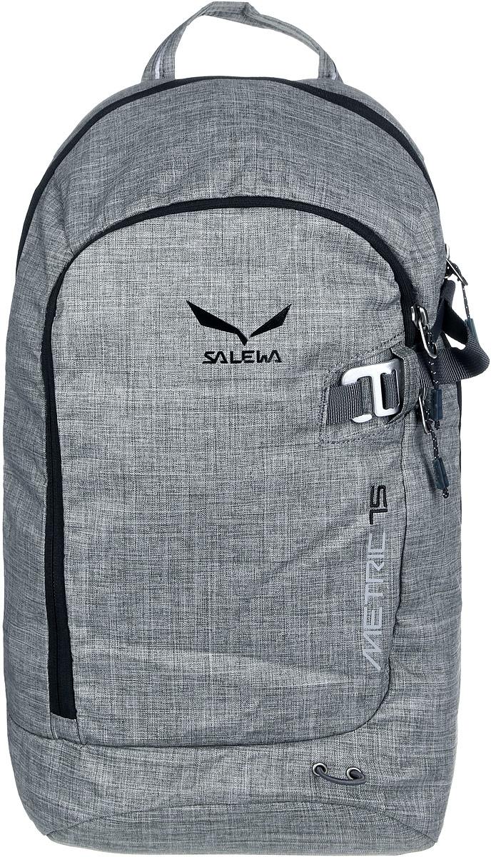 Рюкзак городской Salewa Daypacks METRIC 15, цвет: серый, 15л1127_600Удобный городской рюкзак с хорошо продуманным внутренним пространством и отделением для планшета. Мягкий карман для мобильного телефона сбережет экран от царапин. Особенности: - съемный поясной ремень - карман - органайзер - карман для телефона с защитой от царапин - отделение для планшета