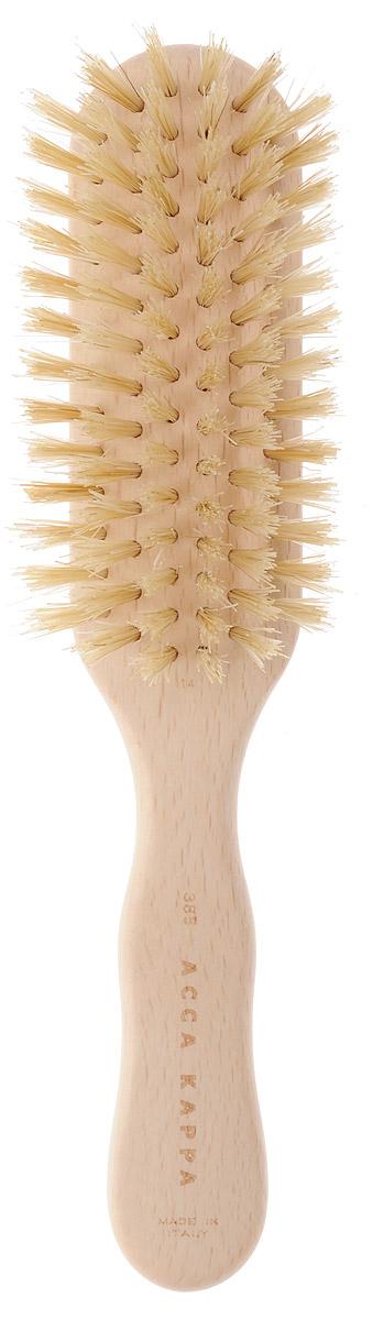 Щетка Acca Kappa для волос, квадратная, 20,5 см. 6238562385Щетка Acca Kappa для волос из серии Proffesional придает дополнительный объем при укладке. Щетка выполнена из дерева и натуральной щетины (кабана). Большое количество щетины позволяет разделять волосы, не запутывая их. Характеристики: Материал: дерево, щетина. Длина: 20,5 см. Производитель: Италия. Артикул: 62385. Товар сертифицирован.