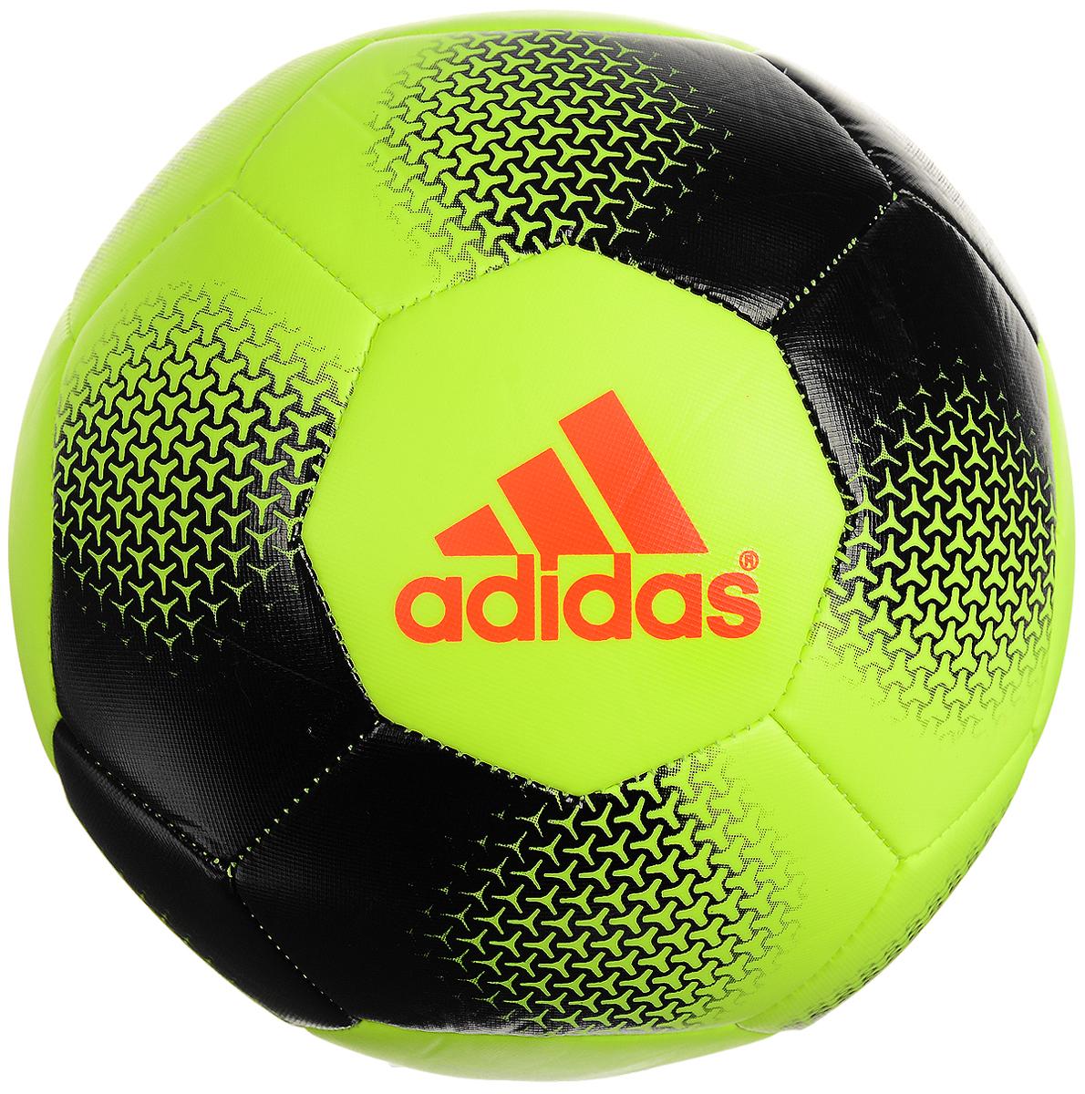 Мяч футбольный (подарочный) Adidas Ace glid, цвет: желтый. AP1642 ( AP1642 )