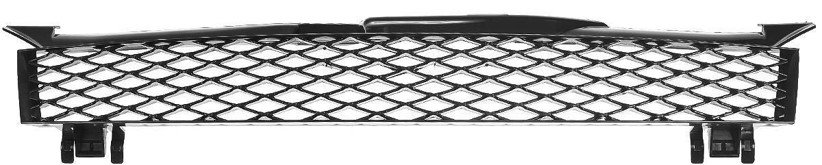 Тюнинг-решетка радиатора Azard Бриллиант, для LADA KalinaRR0191KLТюнинг-решетка радиатора Azard Бриллиант изготовлена из противоударного пластика. Она позволяет защитить радиатор от попадания на него крупных насекомых и камней во время скоростного движения по трассе. Современный и оригинальный дизайн делает решетку стильным украшением автомобиля. Устойчива к сколам, трещинам и низким температурам. Изделие легко и быстро устанавливается на корпус автомобиля. Поверхность можно окрасить в нужный оттенок. В комплект входит инструкция по установке.