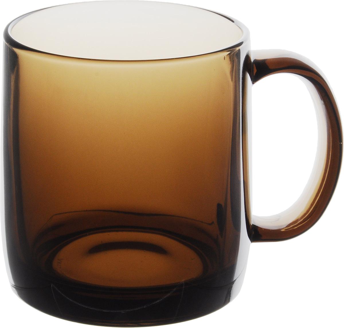 Кружка Luminarc Nordic Eclipse, 380 млH0253_темное стеклоКружка Luminarc Nordic Eclipse, изготовленная из прочного темного стекла, прекрасно подойдет для подачи горячих и холодных напитков. Она дополнит коллекцию вашей кухонной посуды и будет служить долгие годы. Диаметр кружки (по верхнему краю): 8 см. Высота стакана: 9,5 см.