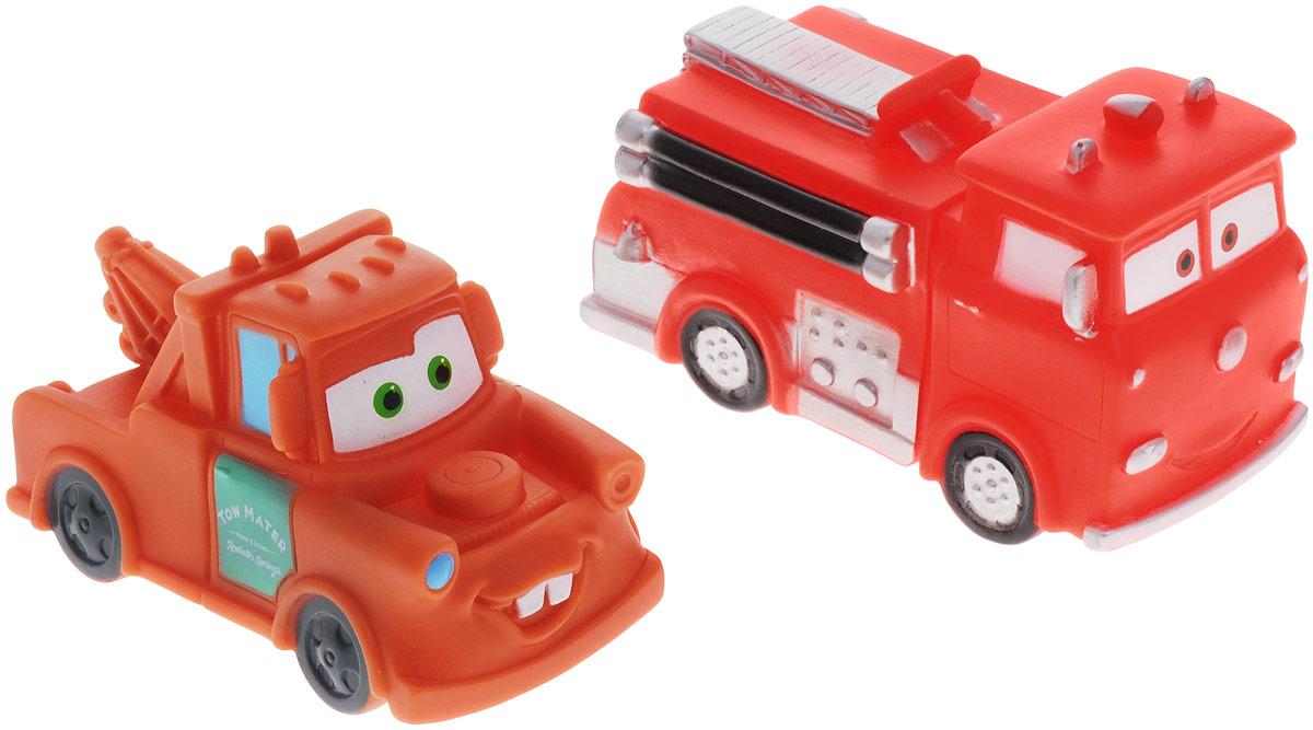 Играем вместе Набор игрушек для ванной Тачки цвет красный коричневый 2 шт162R-163R-164R-PVC_красный,коричневыйС набором игрушек для ванной Играем вместе Тачки принимать водные процедуры станет еще веселее и приятнее. В набор входят две машинки, герои мультфильма Тачки. При надавливании игрушки издают веселый писк. Набор доставит ребенку много радости и поможет преодолеть страх перед купанием. Игрушки для ванной способствуют развитию воображения, цветового восприятия, тактильных ощущений и мелкой моторики рук.