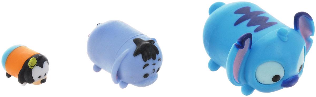 Tsum Tsum Набор фигурок Series 1 3 шт980080_новыйTsum Tsum - это новейшая серия оригинальных коллекционных фигурок. В каждой упаковке вы найдете по 3 игрушки разных размеров, которые можно соединять друг с другом, сажая на спинки. Фигурки изображают персонажей детских мультфильмов, среди них вы сможете найти таких как: котенок Фигаро, Гуфи, медвежонок Винни-Пух, Пятачок, Дональд Дак, киска Мари, Ститч, Микки Маус, Золушка, слоненок Дамбо, ослик Иа, Чеширский кот, снеговик Олаф и многие другие. Соберите целую коллекцию фигурок!