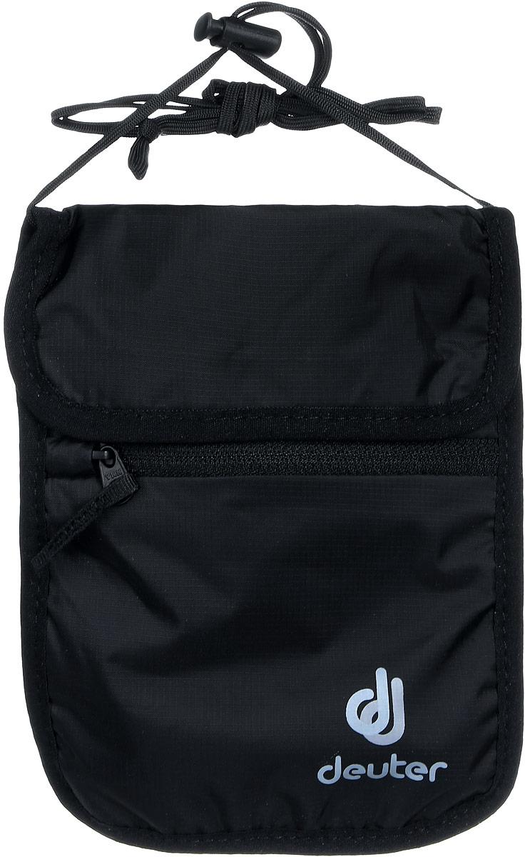 Кошелек Deuter Security Wallet II, цвет: черный3942116_7000Тонкий мягкий нагрудный кошелек для денег и документов. Есть дополнительное отделение.