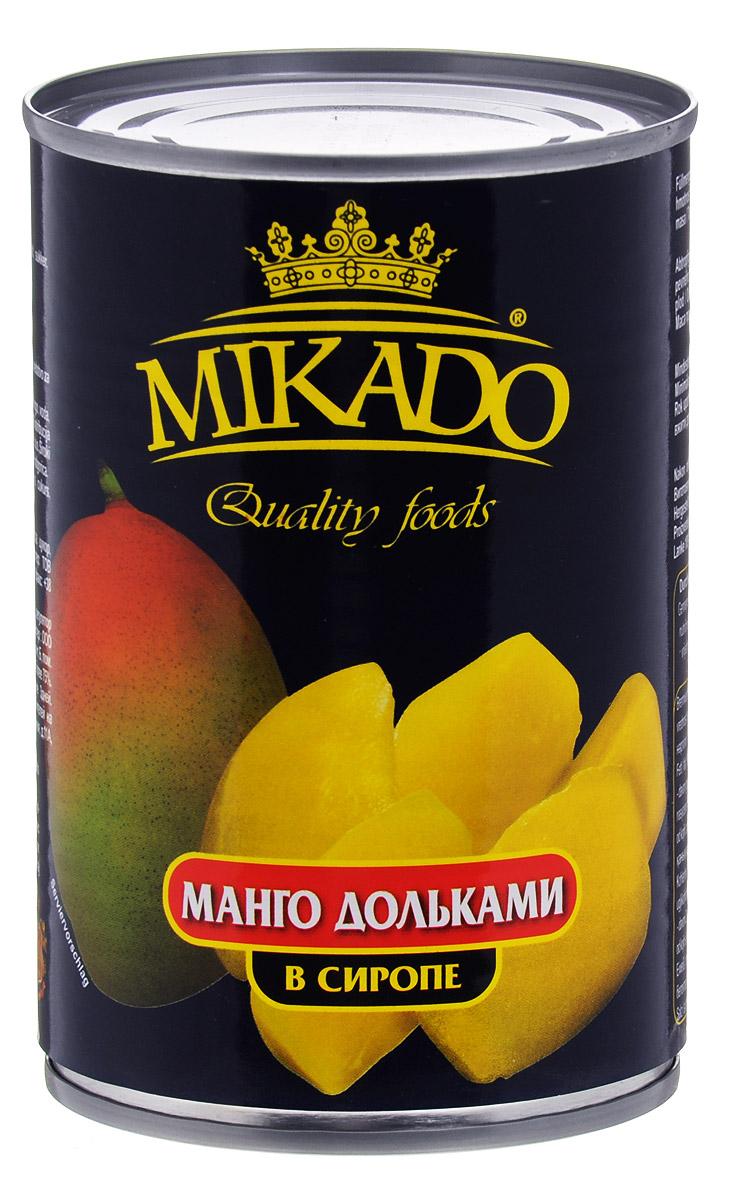 Mikado манго дольками в сиропе, 425 мл