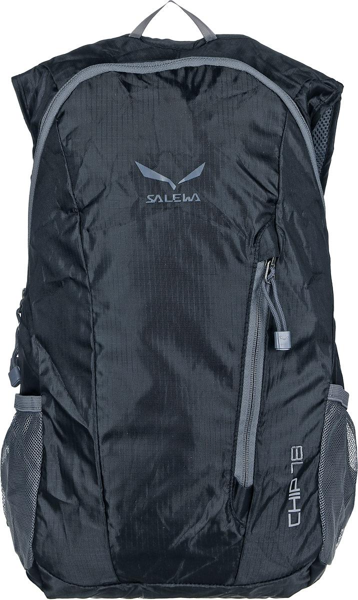 Рюкзак городской Salewa Daypacks CHIP 18, цвет: черный, 18л1131_900Компактный городской рюкзак для повседневного использования и активного досуга. Складывается и упаковывается в сумочку.