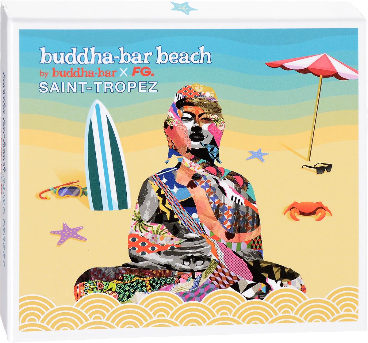 Buddha Bar Beach. Saint-Tropez 2016 Audio CD