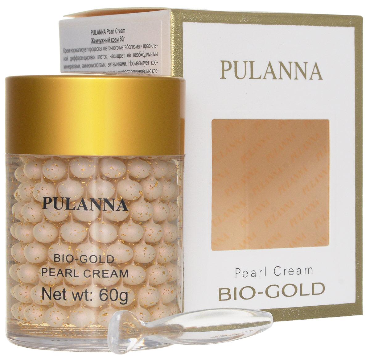 Pulanna Жемчужный крем на основе био-золота - Pearl Cream 60 г5902596005047Уникальная рецептура этого крема позволяет поддержать молодость вашей кожи. Крем нормализует процессы клеточного метаболизма и правильной дифференцировки клеток, насыщает ее необходимыми минералами, аминокислотами, витаминами. Нормализует кровоснабжение, вывод токсинов из кожи, ускоряет регенерацию клеток, повышает клеточный иммунитет. Осуществляет борьбу со свободными радикалами, увлажняет, тонизирует. Замедляются процессы старения, повышается тонус и эластичность кожи, выравнивается ее рельеф. Био-золото обеспечивает коже длительное, глубокое увлажнение и питание. Жемчужная пудра, содержащая витамины, аминокислоты, микроэлементы, нормализует обменные процессы, является активным омолаживающим компонентом. Экстракт гриба Рейши нормализует кровоснабжение, стимулирует вывод токсинов из кожи, замедляет процессы старения. Гиалуроновая кислота обеспечивает пролонгированное увлажняющее действие, повышает кожный иммунитет. Витамин Е, являясь сильным антиоксидантом, повышает клеточный...
