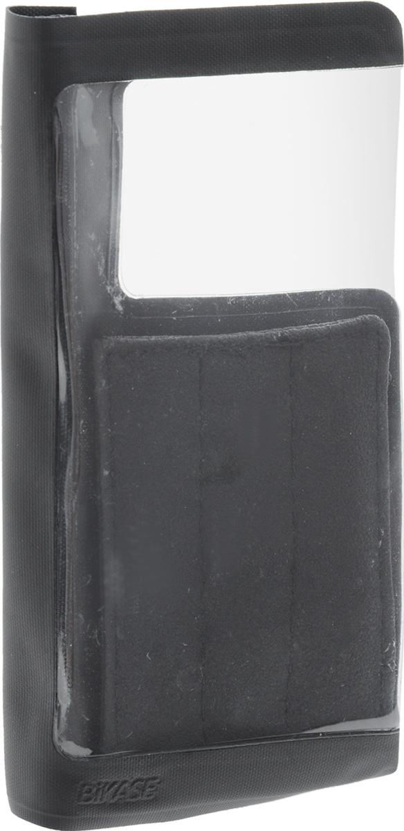 Чехол для смартфона на руль BiKase DriKase, водонепроницаемый, 16 х 8 х 3 смAG017Водонепроницаемый чехол BiKase DriKase сохраняет телефон сухим во время дождя. Устанавливается на руль велосипедов при помощи съемного ремня на липучке. Изделие закрывается на липучку и оснащено прозрачной вставкой из ПВХ. Чехол подходит для большинства моделей телефонов. Размер чехла (с учетом крепления): 16 х 8 х 3 см. размер чехла (без учета крепления): 16 х 16 х 1 см.