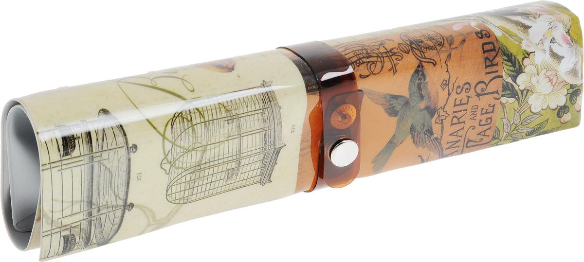 "Пенал-органайзер для мелочей Феникс-Презент ""Птицы"", 25 х 20 см"