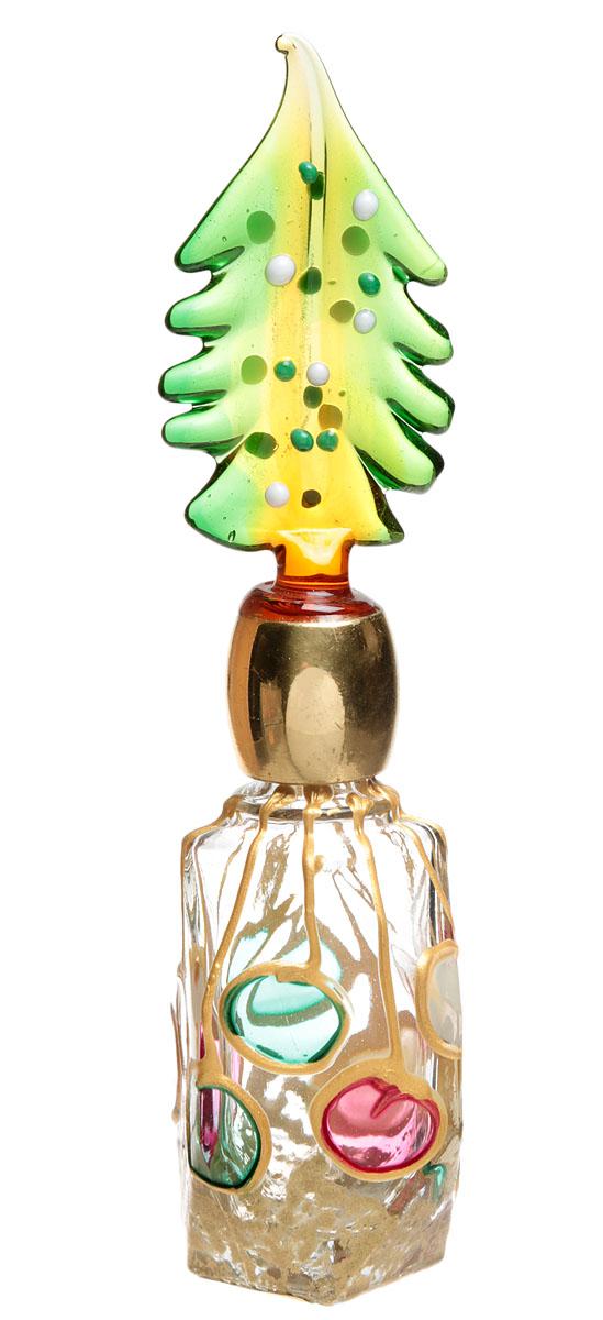 Murano! Флакон для духов. Муранское стекло, золочение, ручная работа. Murano, Италия (Венеция)шкфб.ми.му1Изящный флакон для духов. Муранское стекло, золочение, ручная работа. Murano, Венеция, Италия. Размер: высота 12,5 см. диаметр тулова 2,5 см. Каждое изделие из муранского стекла уникально и может незначительно отличаться от того, что вы видите на фотографии. Превосходный подарок коллекционеру художественного стекла!