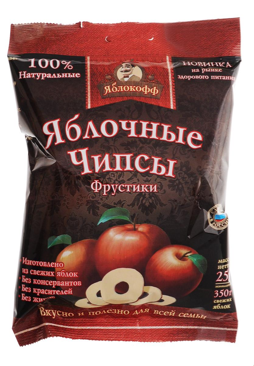 Яблоков яблочные чипсы натуральные, 25 г