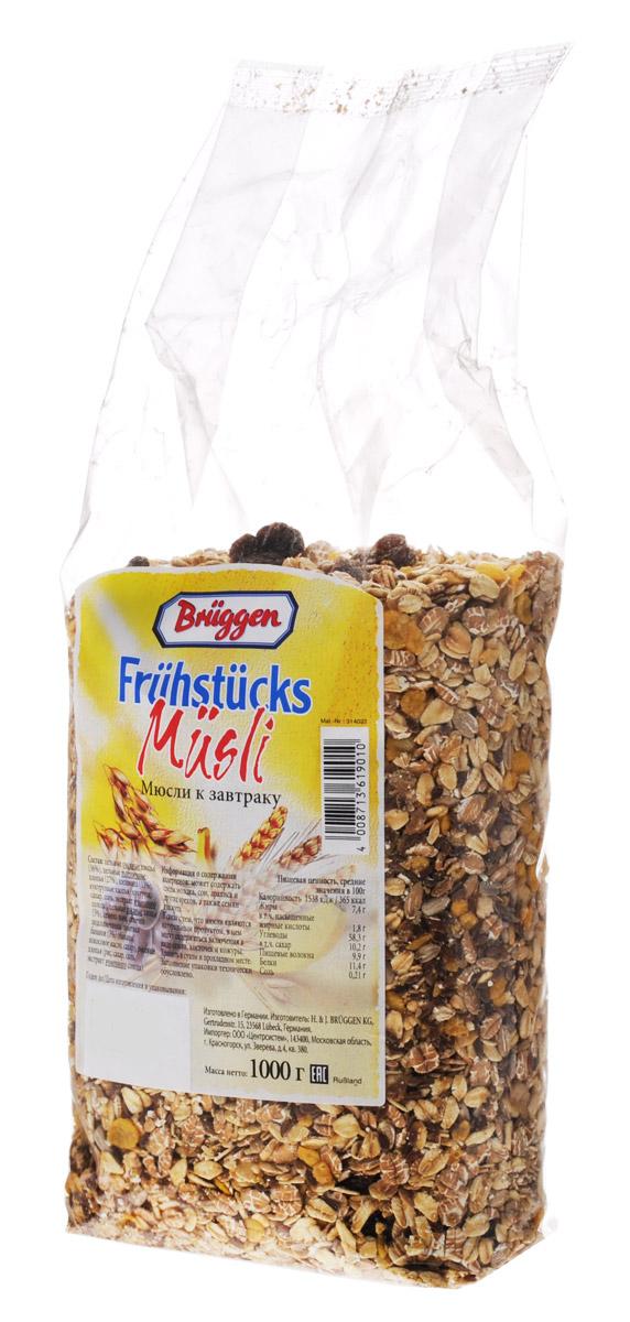 Bruggen мюсли к завтраку, 1 кг