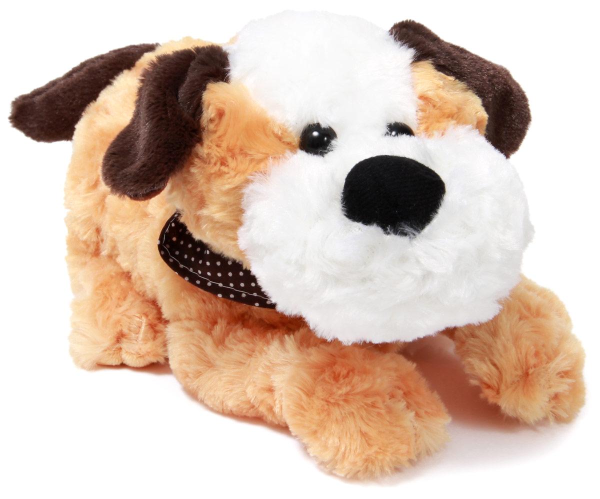 LAPA House Мягкая игрушка Собака СнапJX-2012Интерактивный щенок Снап реагирует на изменение освещения, двигает головой, лает, скулит, чихает, виляет хвостом, работает от 3хАА батареек