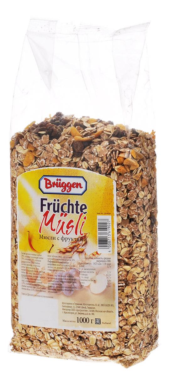 Bruggen мюсли фруктовые, 1 кг